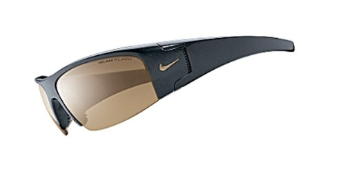 Nike Diverge P Onyx Sunglasses with Brown Polarized Lens