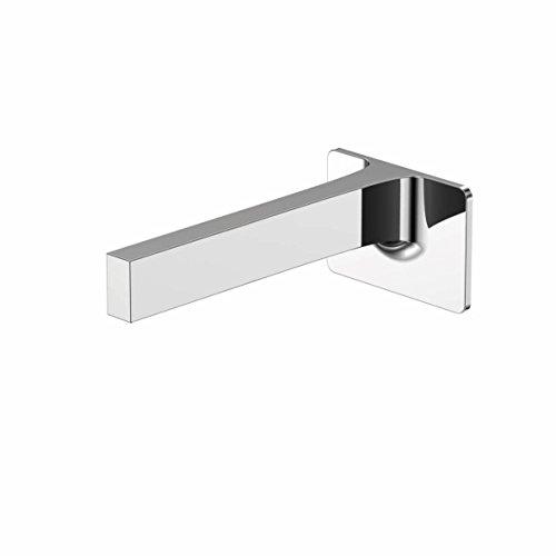 Steinberg 210 2310 Auf Hochglanz poliertes Wand-Ventil mit 200 mm Ausladung Auslauf für Waschtisch oder Wanne, Chrom