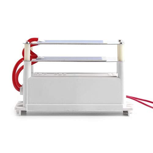7g 110V / 220V Generador de ozono Purificador de aire Esterilizador Ozonizador integrado con hojas dobles de placas de cerámica de ozono tipo tira (AC220V)