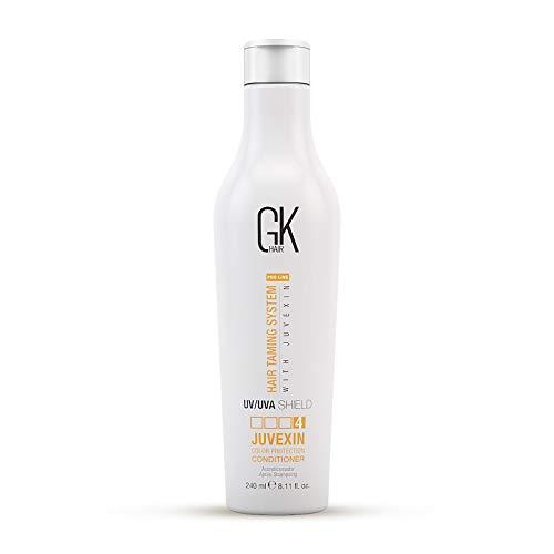 Global Keratin GKhair GK Hair Shield Conditioner 240ml   Contro il sole, i raggi UV   UVA   Per capelli secchi e con doppie punte con aloe vera e oli naturali - tutti i tipi di capelli