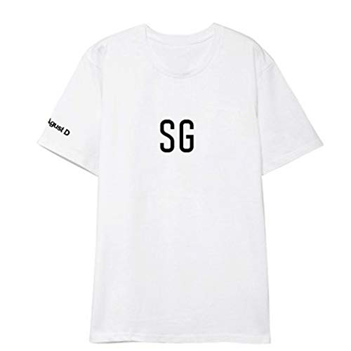 APHT Unisexe Maglietta T-Shirt FG SG Top Moda Army Fans Hip Pop Top Casual Cool Manica Corta per Donna Estate