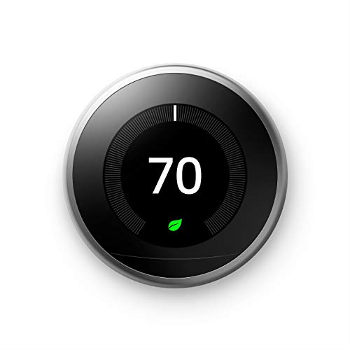 Nest Learning Thermostat, 3rd Generation, Works with Amazon Alexa(Version US, Importée)