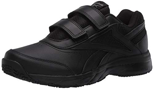 Reebok Women's Work N Cushion 4.0 KC Walking Shoe, Black/Cold Grey/Black, 7.5 M US