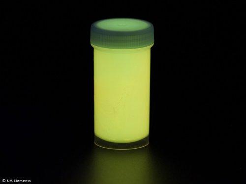 Unsichtbarer Leuchtlack 50ml - gelb