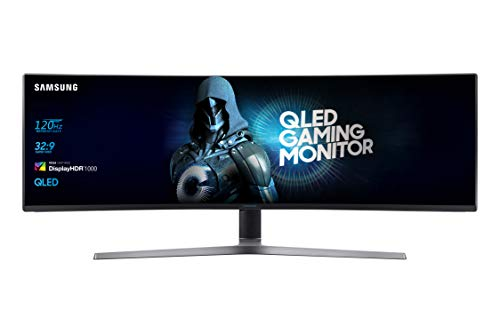 Samsung C49RG90 49-inch Super Ultrawide Curved Gaming Dual WQHD 1440p Monitor