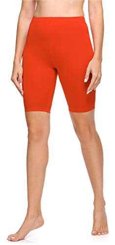 Ladeheid Leggins Mujer LA40-131 (Naranja, L)