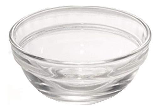 Pasabahce Chef 53713 – Schale Schälchen aus Glas, Ø 6 cm, für Gewürze, Dip, Sauce, Salz, Pfeffer, Kochen + Backen, 6 Stück