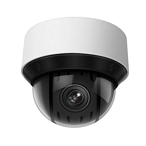 4MP HD PTZ DarkFighter Outdoor Dome Camera ,4.8~120 mm Lens, 25x Optical Zoom POE IP Camera,OEM...