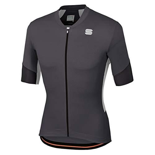 Sportful Maglia Ciclismo GTS Uomo, Anthracite-Black