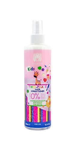 Valquer Profesional Acondicionador Bifásico Infantil. Zero%: sin sal, sin sulfatos. Acondicionador niños. For kids - 300 ml