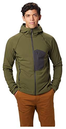 Mountain Hardwear Men's Keele Hoody - Dark Army - Small
