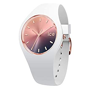 Ice-Watch Womens Analogue Quartz Watch with Silicone Strap 15749