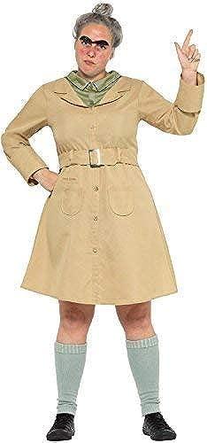 Fancy Me Damen Roald Dahl Miss Knüppelkuh Matilda Welttag des Buches-Tage-Woche Lehrer Erwachsene Kostüm Kleid Outfit