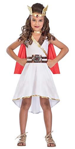 Fancy Me Mädchen Teen Göttin Prinzessin Römisch Griechisch Superheld Welttag des Buches-Tage-Woche Kostüm Kleid Outfit 5-14 Jahre - 5-7 Years