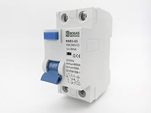 Interruptor Diferencial tipo AC con MiniFiltro de Armónicos (Electro-Magnetic) (63