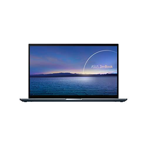 ASUS ZenBook UX535LI-BN010T - Portátil de 15.6' Full HD (i7-10750H, 16GB RAM, 512GB SSD, 1000GB HDD, GeForce GTX 1650 Ti 16GB GDDR4, Windows 10 Home) Gris Pino - Teclado QWERTY español