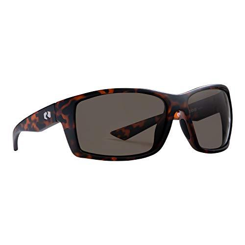 Rheos Eddies Sport Style Floating Polarized Sunglasses | 100% UV Protection | Floatable Shades | Ideal for Fishing and Boating | Anti-Glare | Unisex | Tortoise | Amber