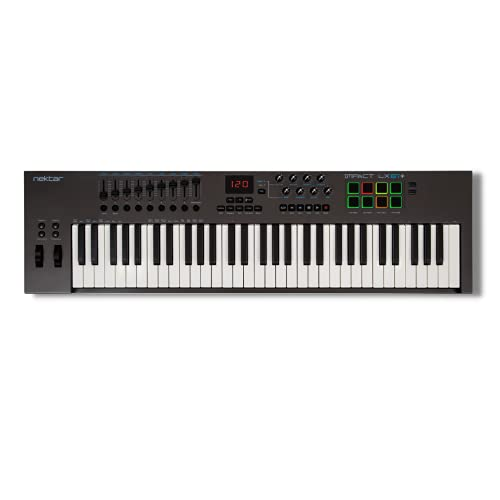 Nektar Impact LX61+ - teclado controlador MIDI USB con integración...