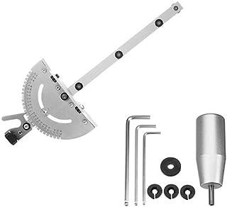 1Set calibrador de inglete Sierra/enrutador calibre de inglete conjunto de corte regla para Sierra de mesa enrutador 450mm largo de madera herramienta de Sierra de trabajo