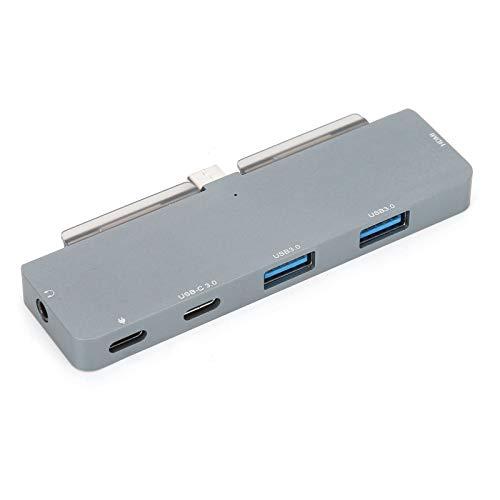 Hub USB3.0, Convertidor de Adaptador de Estación de Acoplamiento 6 en 1 Tipo C a HDMI para Almohadilla, Teléfono Y Computadora