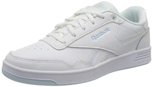 Reebok Damen ROYAL TECHQUE T Tennisschuhe, Blanco/Glablu/None, 38 EU