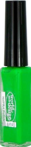 World of Nails Design - Fine-Liner - Vernis stylo pour Nail Art - Vert fluo 202 - 9 ml