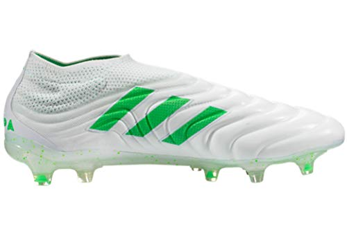 adidas Copa 19+ Men's Soccer Cleats (7.5 Men's US) White