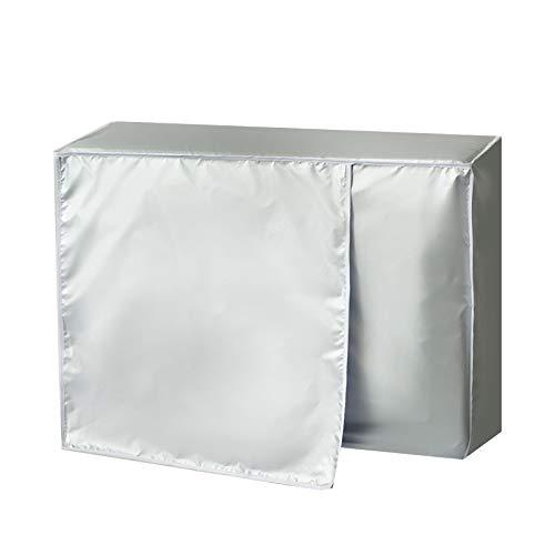 KACC Funda para Aire Acondicionado, Cubierta Exterior Protectora Antirresbaladiza Impermeable del Aire Acondicionado para el Hogar(105 * 40 * 75cm)