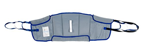 Patient Aid Bariatric Sit to Stand Padded Patient Lift Sling, Stand Assist, (Extra Large), 600lb Weight Capacity