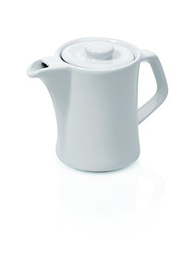 Kännchen -Schlichte Optik- aus Porzellan, Kaffeekanne Teekännchen Coffee Pot Small Pot - Verschiedene Größen auswählbar (Kännchen, Inhalt: 0,35 Liter)