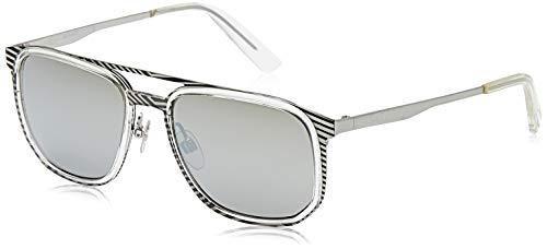 Diesel Forma cuadrada gris y gafas de sol de los hombres del marco, DL0294-20C