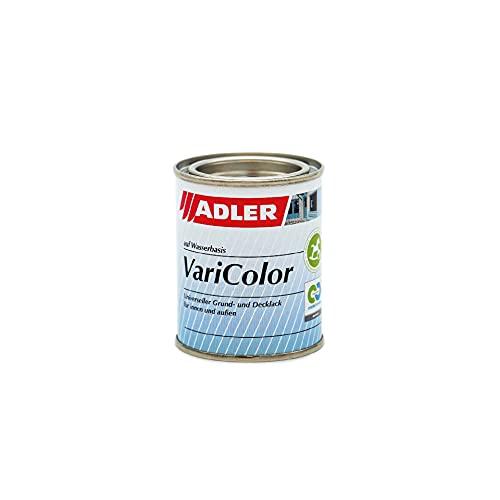 ADLER Varicolor 2in1 Acryl Buntlack für Innen und Außen - 125 ml RAL9001 Cremeweiß Beige - Wetterfester Lack und Grundierung - Seidenmatt