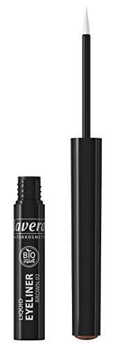 lavera Liquid Eyeliner -Brown- Für einen ausdrucksstarken Blick ∙ Perfekter Lidstrich ∙ Vegan...