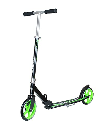 Hornet 14929 - Scooter Roller GS 200, Tret-Roller Big Wheel, neon-grün