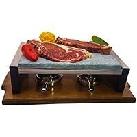 Piedra para Carne de 20x30 Bicolor Roble-Nogal