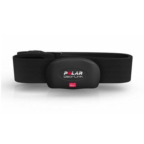 Polar WearLink+ Nike+ - Transmisor de frecuencia cardiaca sumergible, compatible con dispositivos Nike+, talla M-XXL