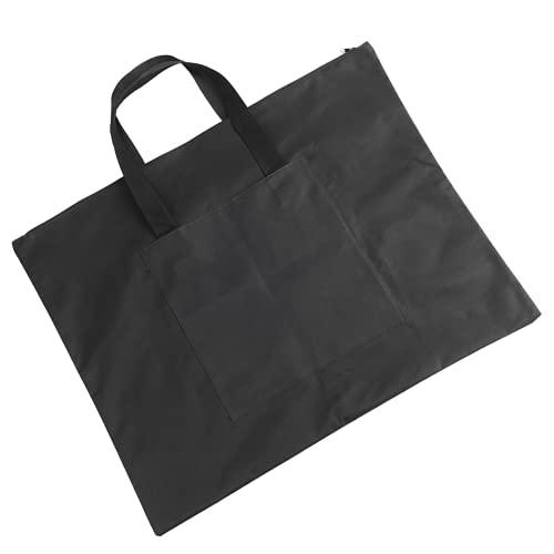 Cartella File Bag, robusta e resistente custodia in tela Oxford Design semplice per riviste per giornali per documenti