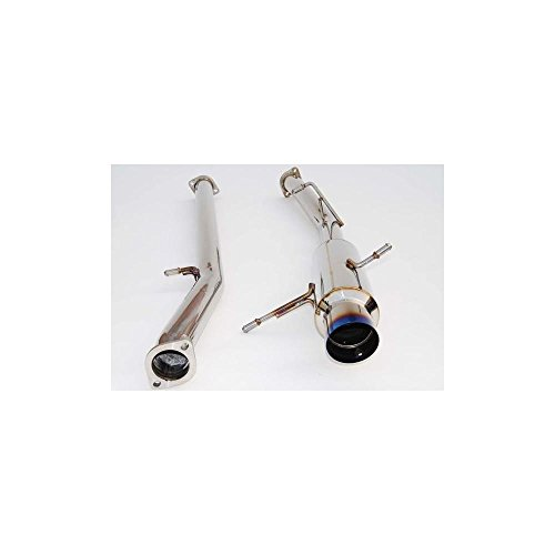 Invidia HS02SW1GRT Titanium Single Layer Racing Cat-Back Exhaust System for Subaru WRX STI