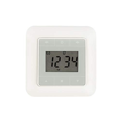 JULIUS MAYER JMT-Touch Rollladen-Zeitschaltuhr mit Touch-Display und Schalter