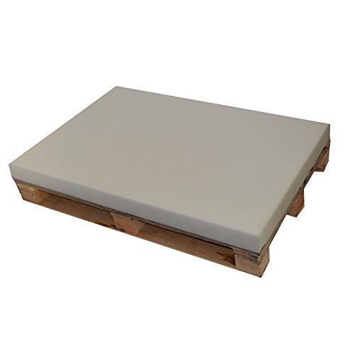 Fortis schuimstofplaat RG25, grootte Euro pallet, 120/80/8 cm, schuimstof, gestoffeerde meubels, tuinmeubelen, kussen PEP2508