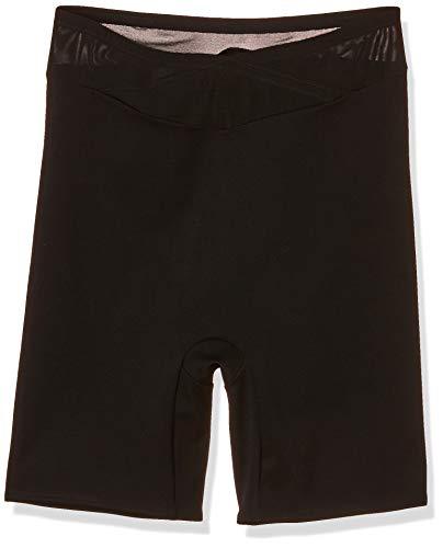 Ulla Popken Damen Strumpfhose Langbein Panty, Große Größen, (Schwarz 10), 48 (Herstellergröße: 54+)