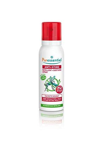 Puressentiel - Anti Pique - Spray Répulsif et Apaisant - Zone infestées tempérées et tropicales - Actif 100% d'origine naturel - 75 ml