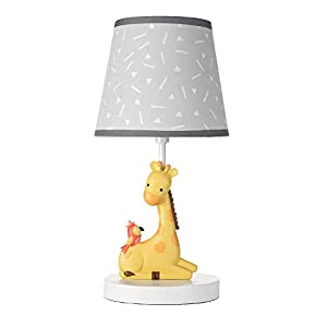 Bedtime Originals Mighty Jungle Lamp with Shade & Bulb, Multicolor