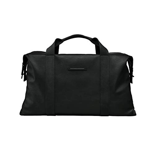 HORIZN STUDIOS SoFo Weekender | Luxus Travel Bag | Gewachstes Canvas (Black)