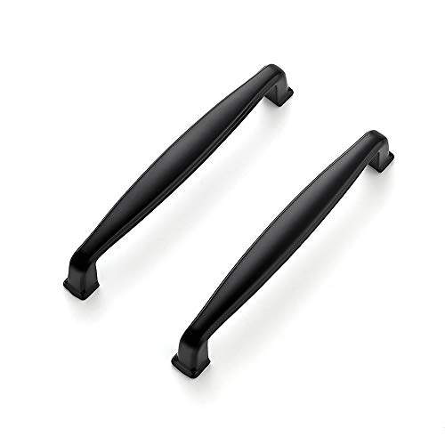 Ravinte 30 Pack 5 Inch Kitchen Cabinet Handles Matte Black Cabinet Pulls Black Drawer Pulls Kitchen Cabinet Hardware Kitchen Handles for Cabinets Cupboard Handles Drawer Handles