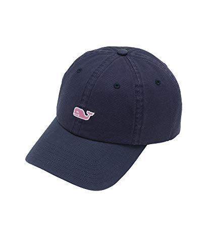Vineyard Vines Men's Classic Whale Logo Baseball Hat, Vineyard Navy, ONE Size