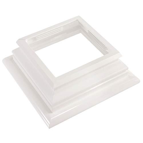 White Vinyl Federation Post Skirt A True 4