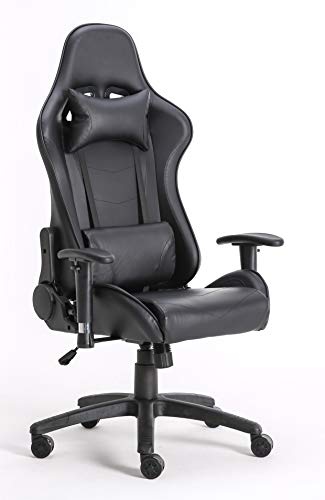 Millhouse Gaming Racing Desk Chair Adjustable Computer Office Chair Lumbar...