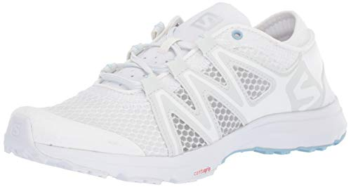 SALOMON Damen Crossamphibian Swift 2 W Wasserschuh, White/Illusion Blue/Cashmere Blue, 39 EU