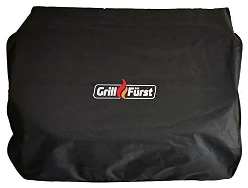 Grillfürst Grill Abdeckhaube - robuste Grill-Abdeckung 50 x 55 x 30 cm, wetterfest und wasserdicht, Abdeckung Gasgrill für Campinggrill Modell G201